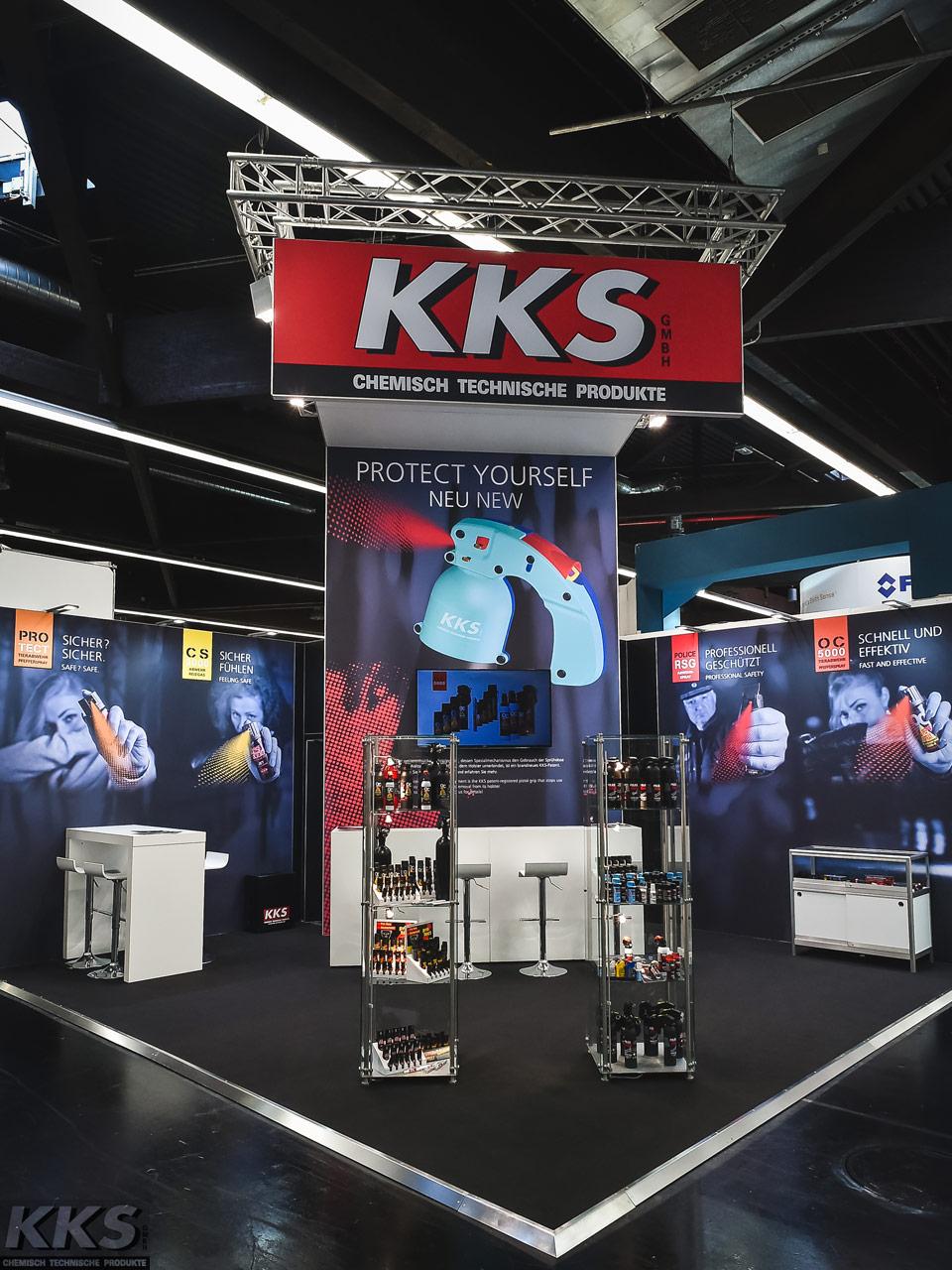 KKS-Produkte GmbH Messestand